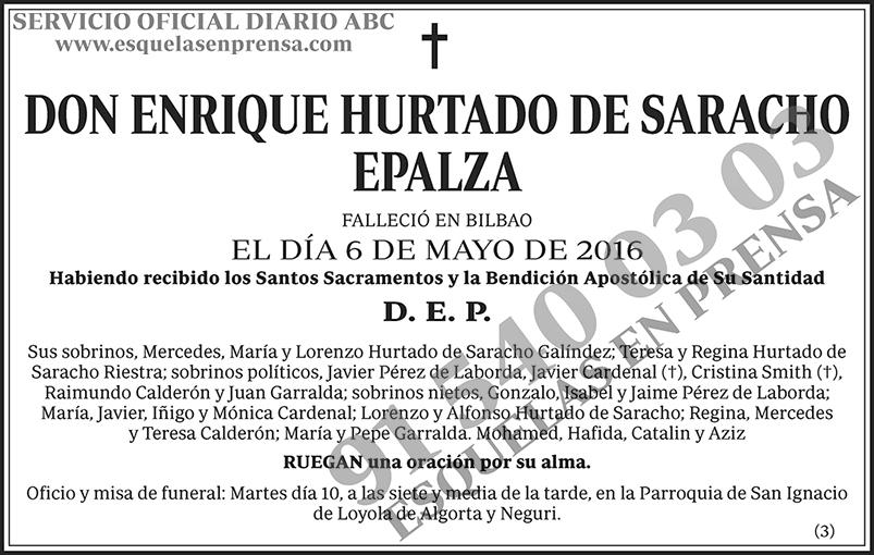 Enrique Hurtado de Saracho Epalza
